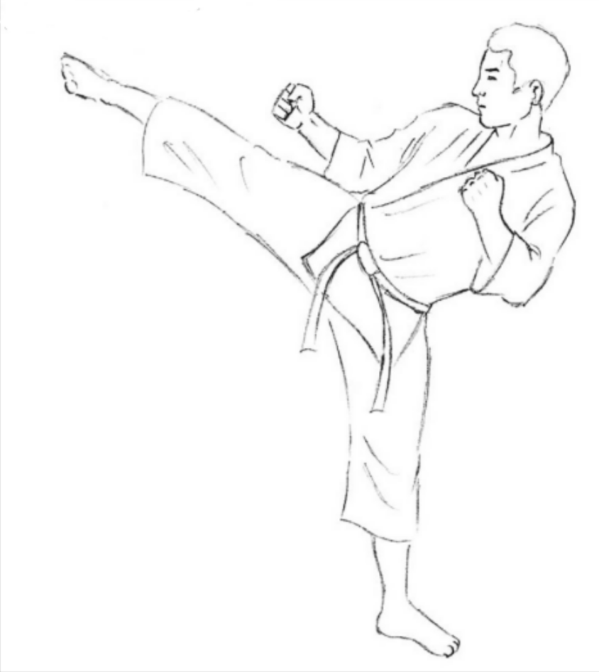 png freeuse download At paintingvalley com explore. Karate drawing