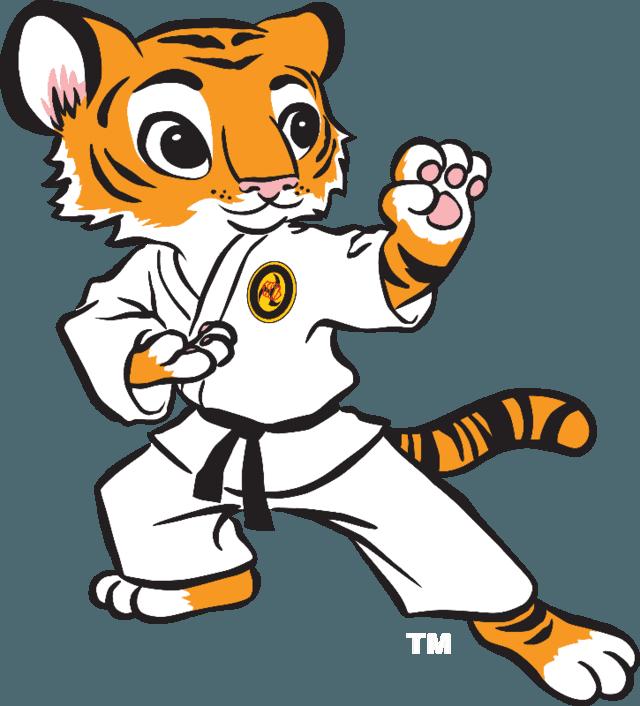 vector free Karate kid clipart. Wylie little tiger program