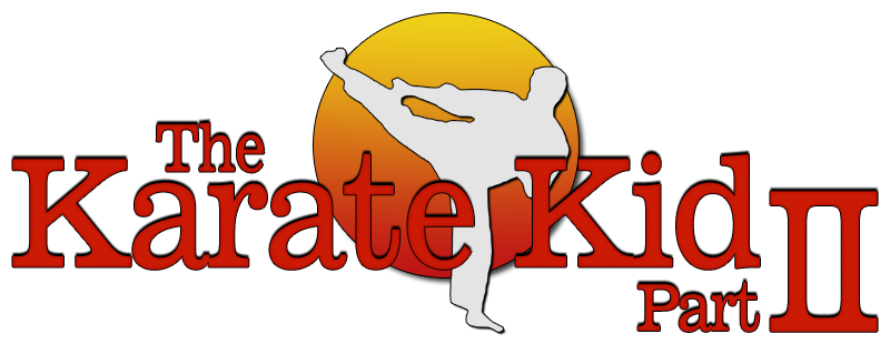 clip freeuse Karate kid clipart. The part ii movie