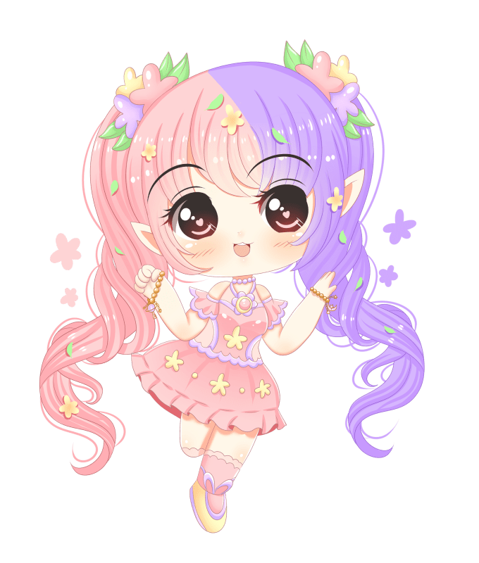 royalty free Draw anything in kawaii chibi anime style by Astarotte