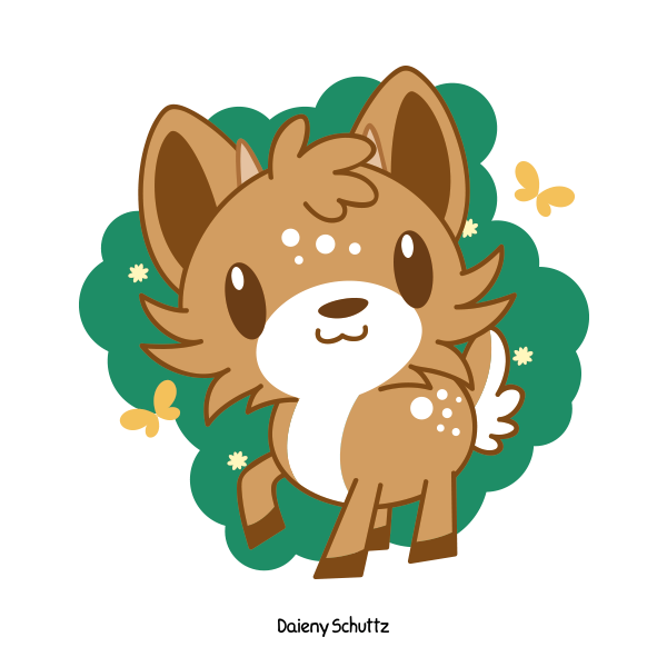 png freeuse Cute Deer by Daieny on DeviantArt