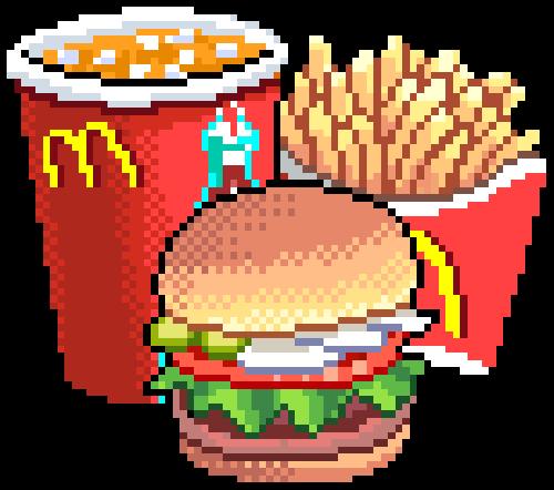 clip stock transparent pixel food