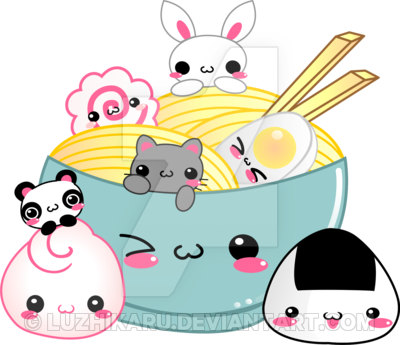 clipart free library Noodle clipart kawaii