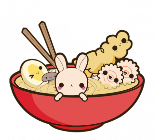 image freeuse stock Kawaii Ramen