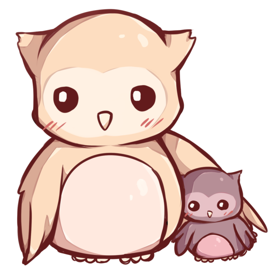 picture royalty free download Kawaii aplike pinterest and. Drawing owl anime