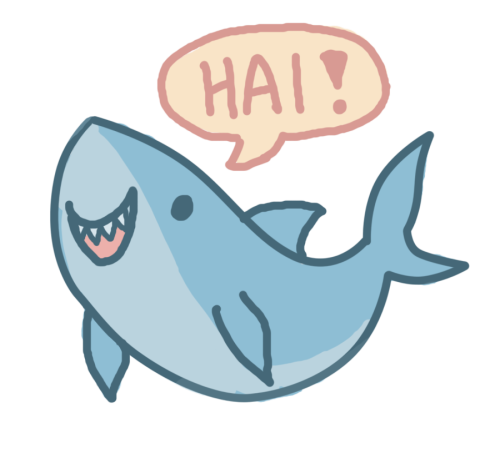 vector free Image result for tumblr. Drawing sharks cute