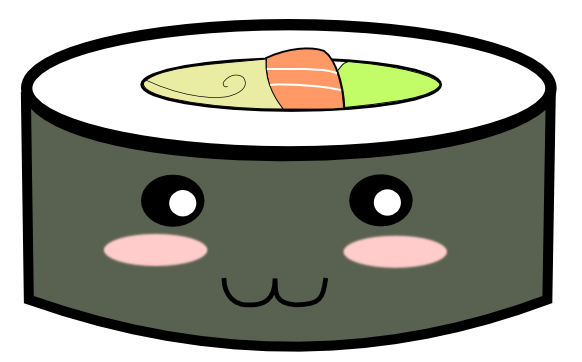 clipart free Sushi Kawaii by jorgicio on DeviantArt
