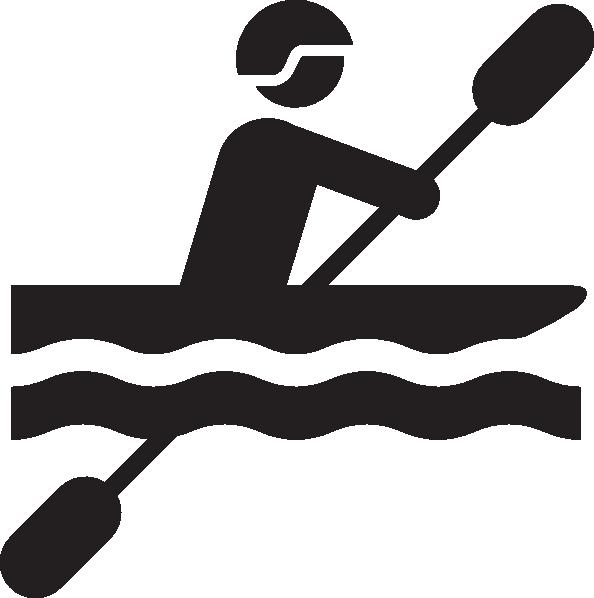 vector free Kayaking clipart recreation. Kayak transparent free on.
