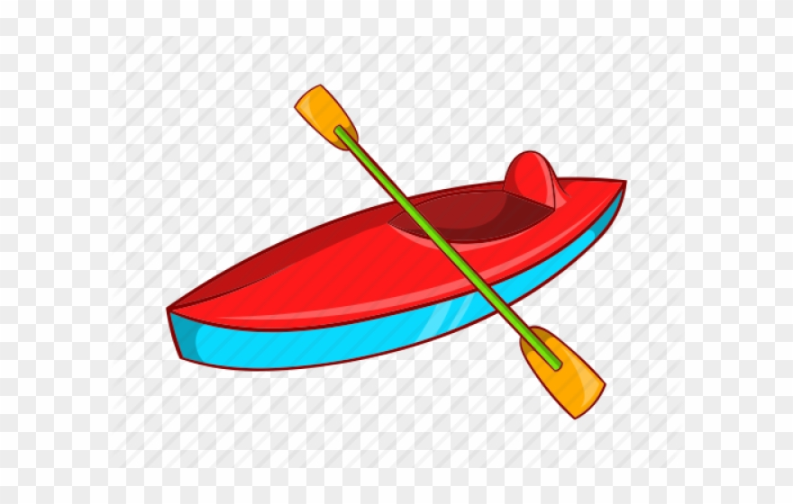 picture royalty free download Canoe animated kayaking cartoon. Kayak clipart