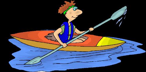 royalty free Kayaking clipart wooden canoe. Kayak fishing free on