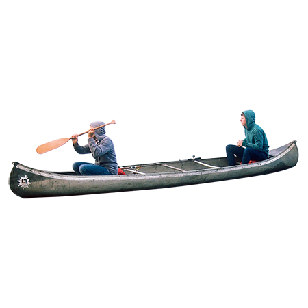 png freeuse download Two people out on. Kayaking clipart kayak girl.
