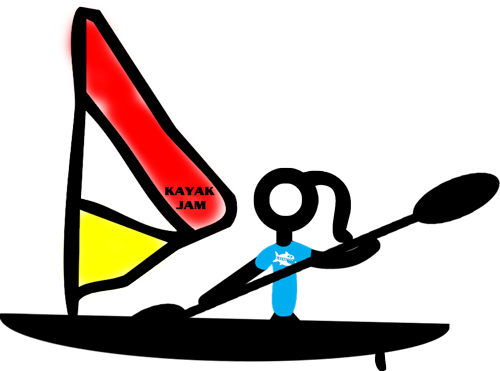 picture transparent library Trivia in hobie kayaks. Kayaking clipart paddle boat