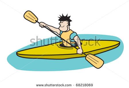 clip art free download Kayak free download best. Kayaking clipart paddle boat.