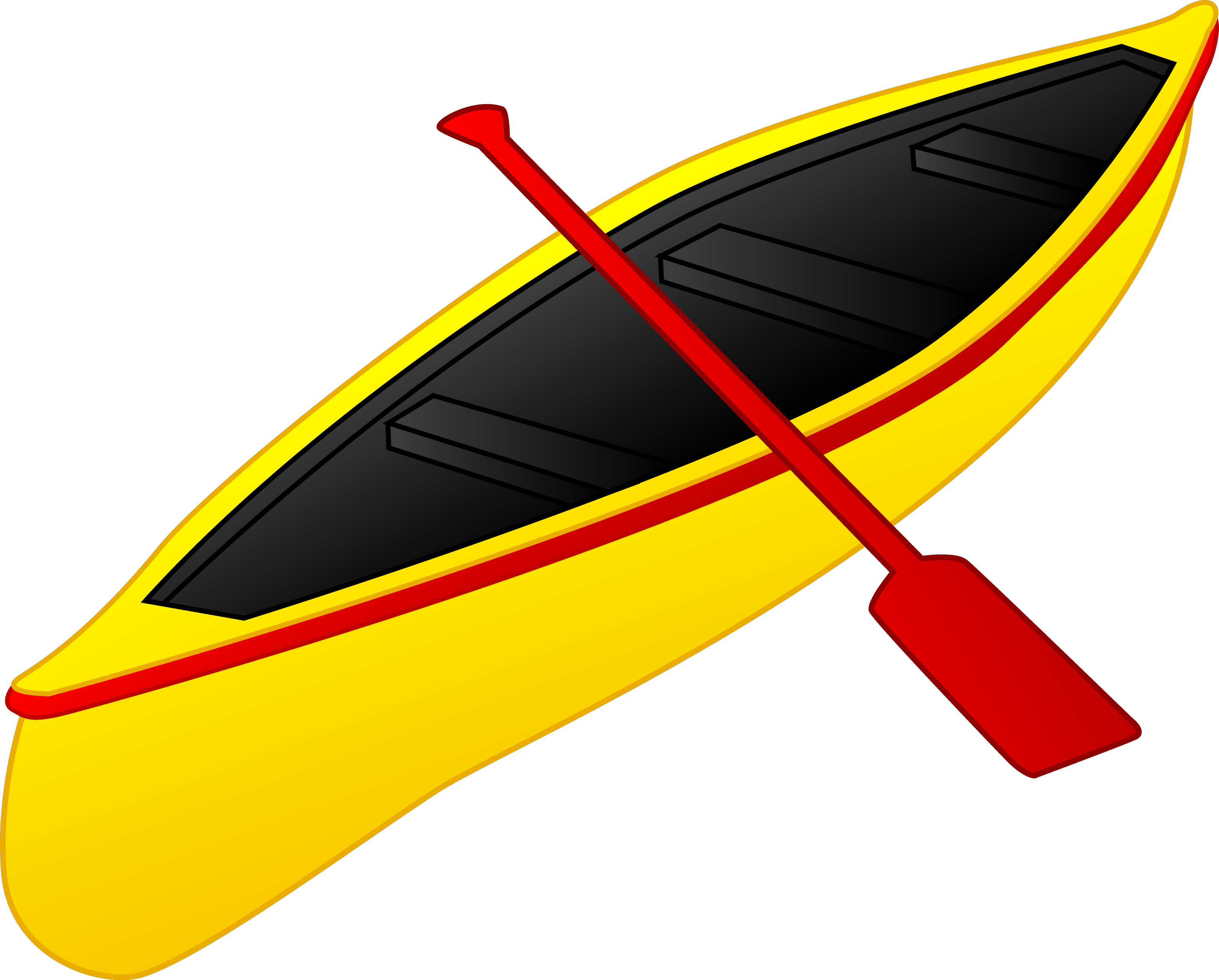 image black and white stock Kayaking clipart paddle boat. Kayaks canoes boats or