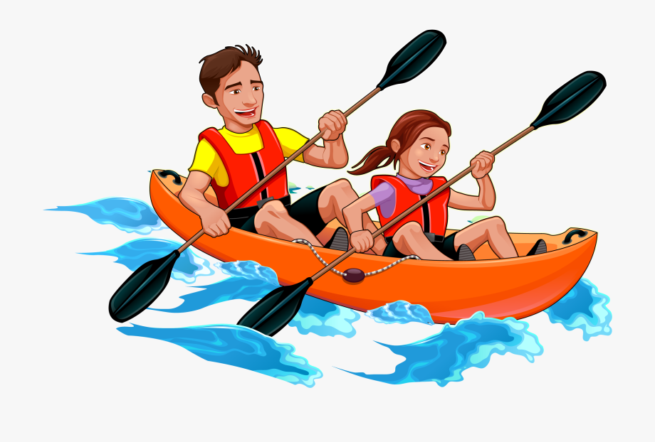 image royalty free stock Transparent png kayak clip. Kayaking clipart rafting