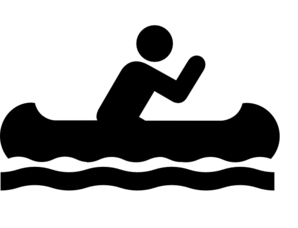 banner royalty free library Kayak canoeing free on. Kayaking clipart rafting