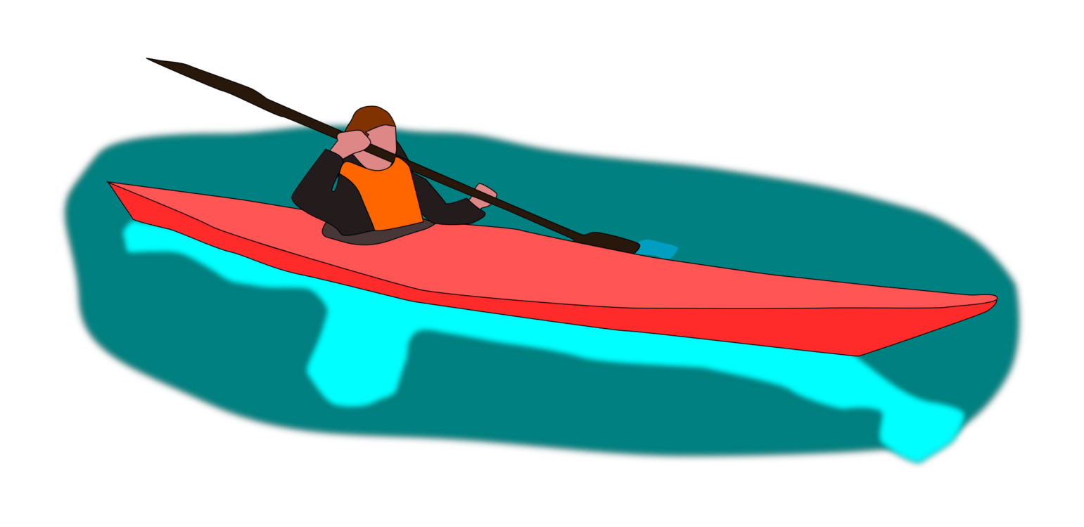 jpg transparent library Kayaking clipart recreation. Transparent png free download.