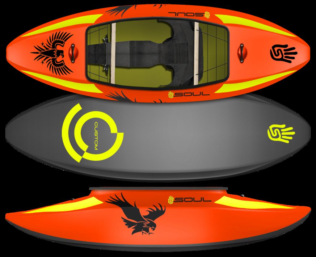 clip free library Kayaking clipart recreation. Custom kayaks soul waterman.