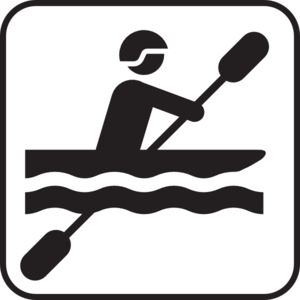 clipart Kayaking clipart stick figure. .