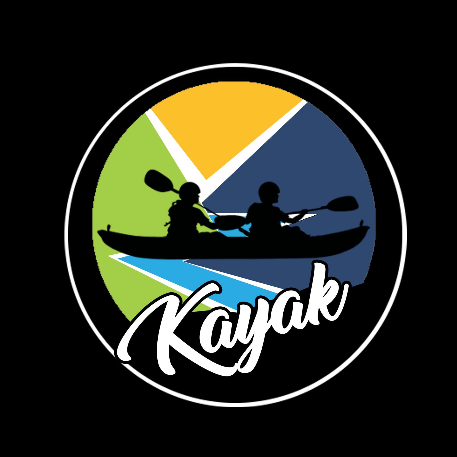 svg royalty free stock Kayaking clipart stick figure. Kayak rafting free on.