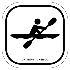 clipart free People tagged united sticker. Kayaking clipart stick figure