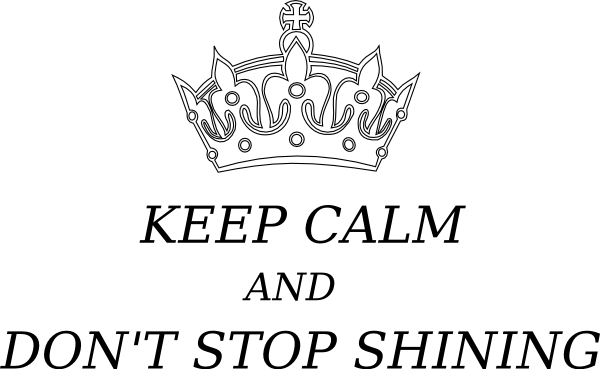 svg transparent stock Keep Calm Crown Clip Art at Clker