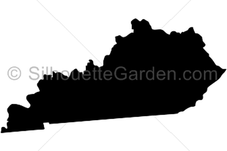 svg freeuse library state of kentucky silhouette