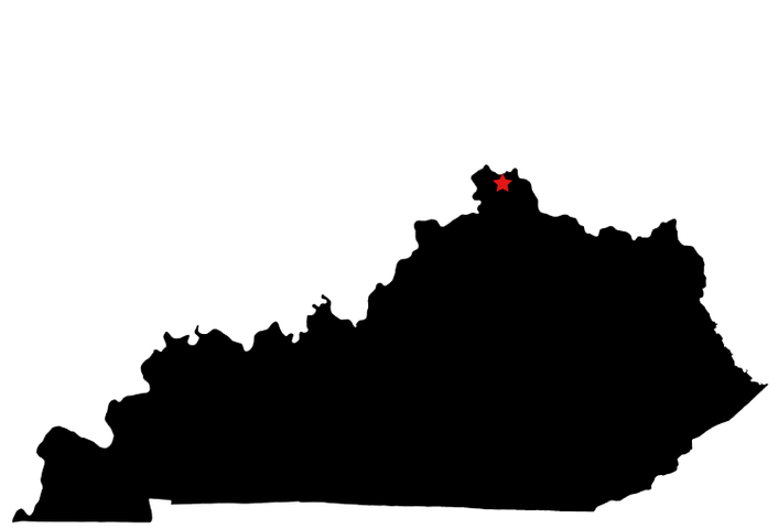 image freeuse kentucky map outline