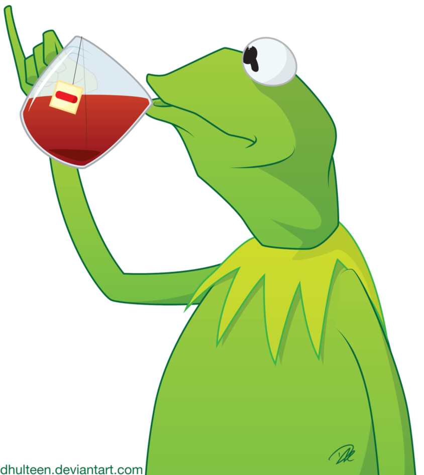 clipart freeuse Kermit tea exploitable by dhulteen on DeviantArt