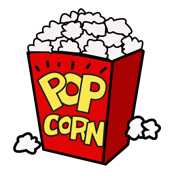 graphic royalty free library Popcorn kernel at getdrawings. Kids movie night clipart
