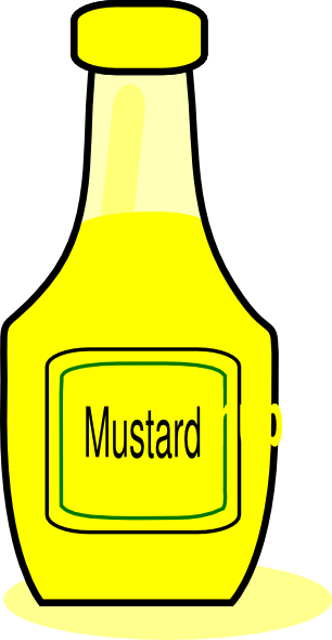 clip art black and white Ketchup and mustard clipart. Clip art at clker