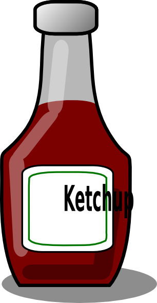 clip transparent library Clip art at clker. Ketchup clipart