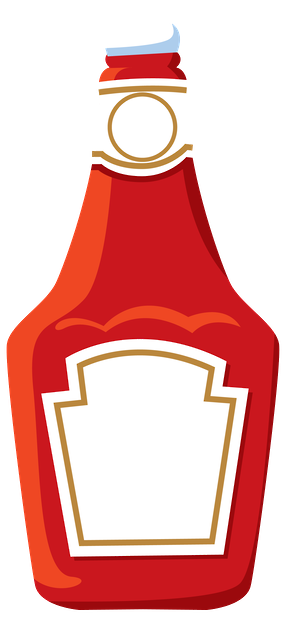 clip art freeuse stock  collection of png. Ketchup clipart.