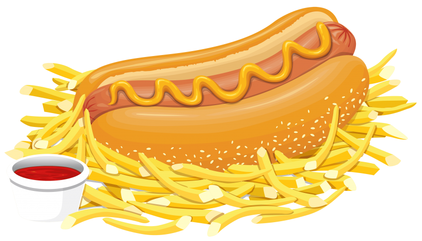 picture transparent library Hot dog with png. Ketchup clipart free.