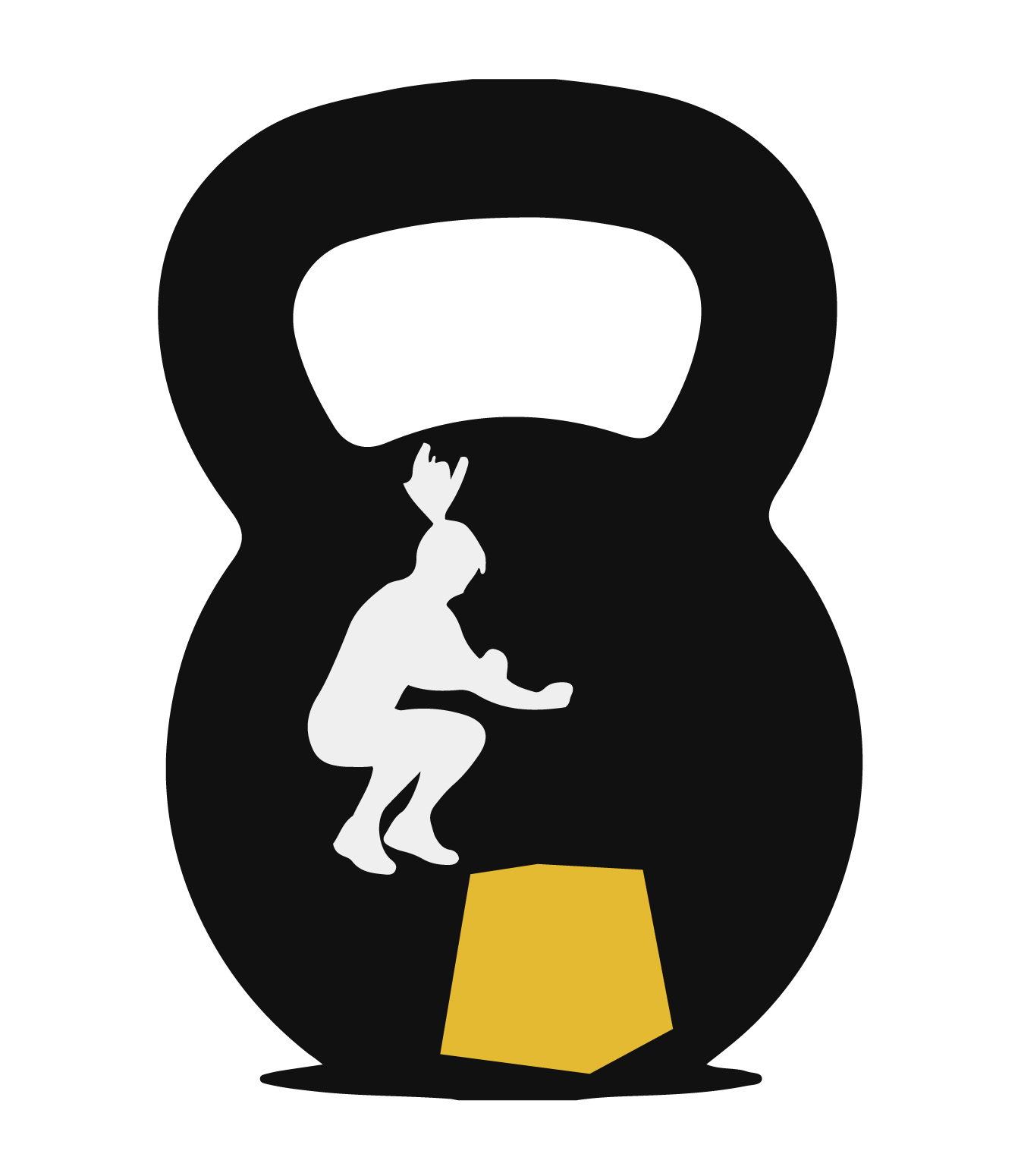 png transparent Kettlebell silhouette clipart. Crossfit eixample cfx fit