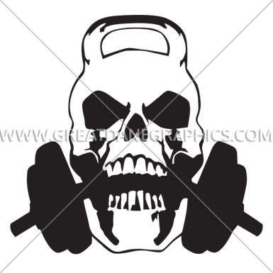 clip art royalty free stock Kettlebell skull clipart.  collection of high