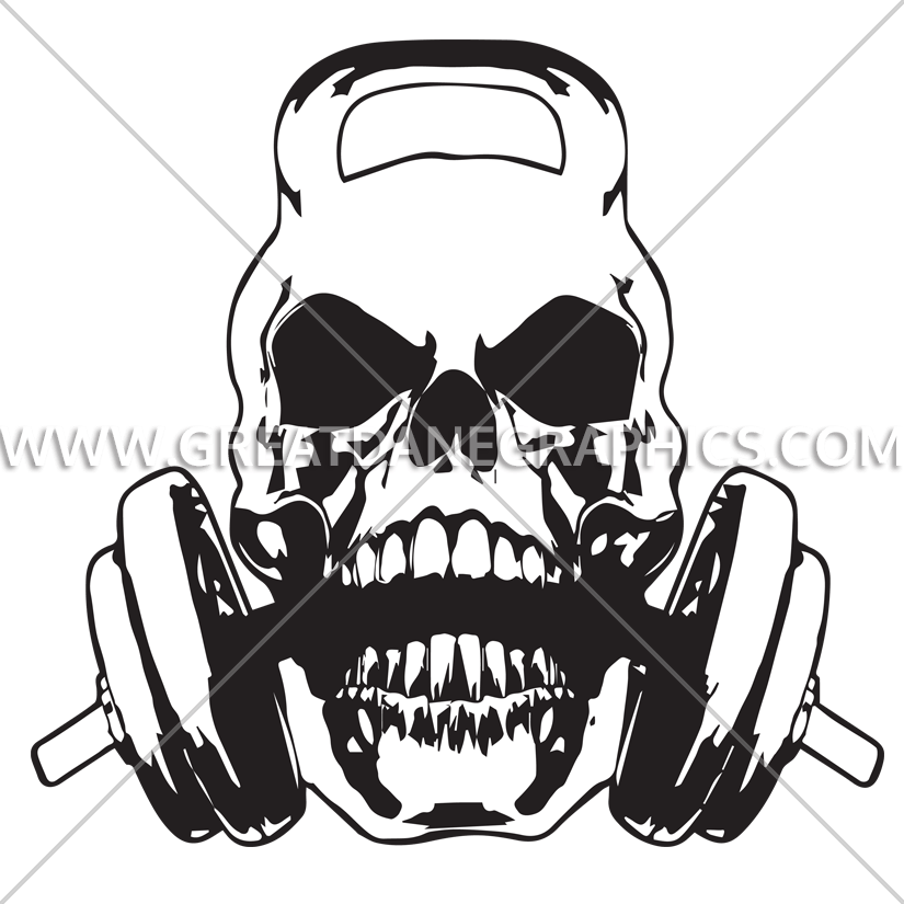 clip art royalty free stock  collection of high. Kettlebell skull clipart