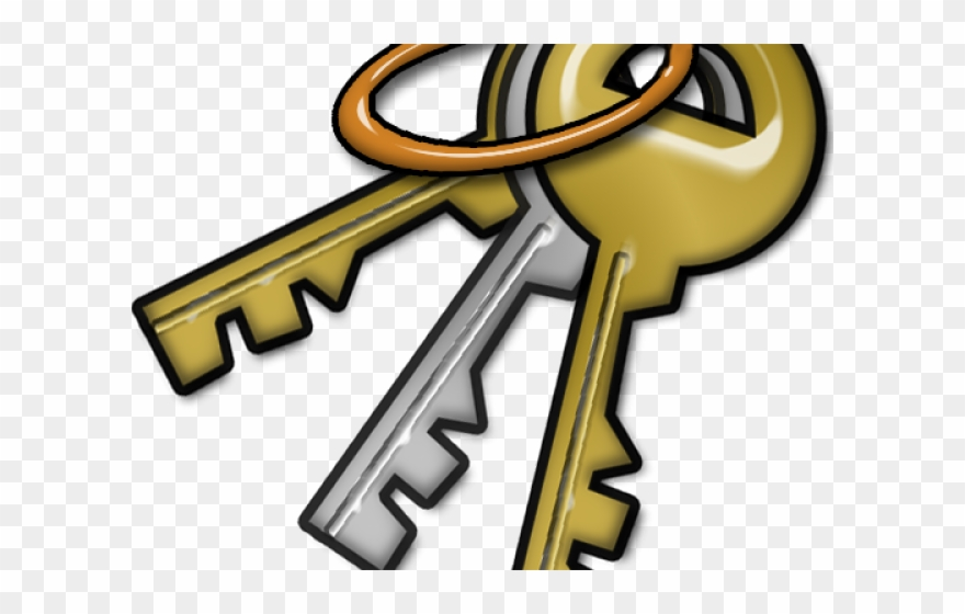 vector transparent Key chain clipart. Keychain clip art transparent