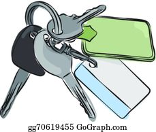 graphic black and white library Keychain clip art royalty. Key chain clipart