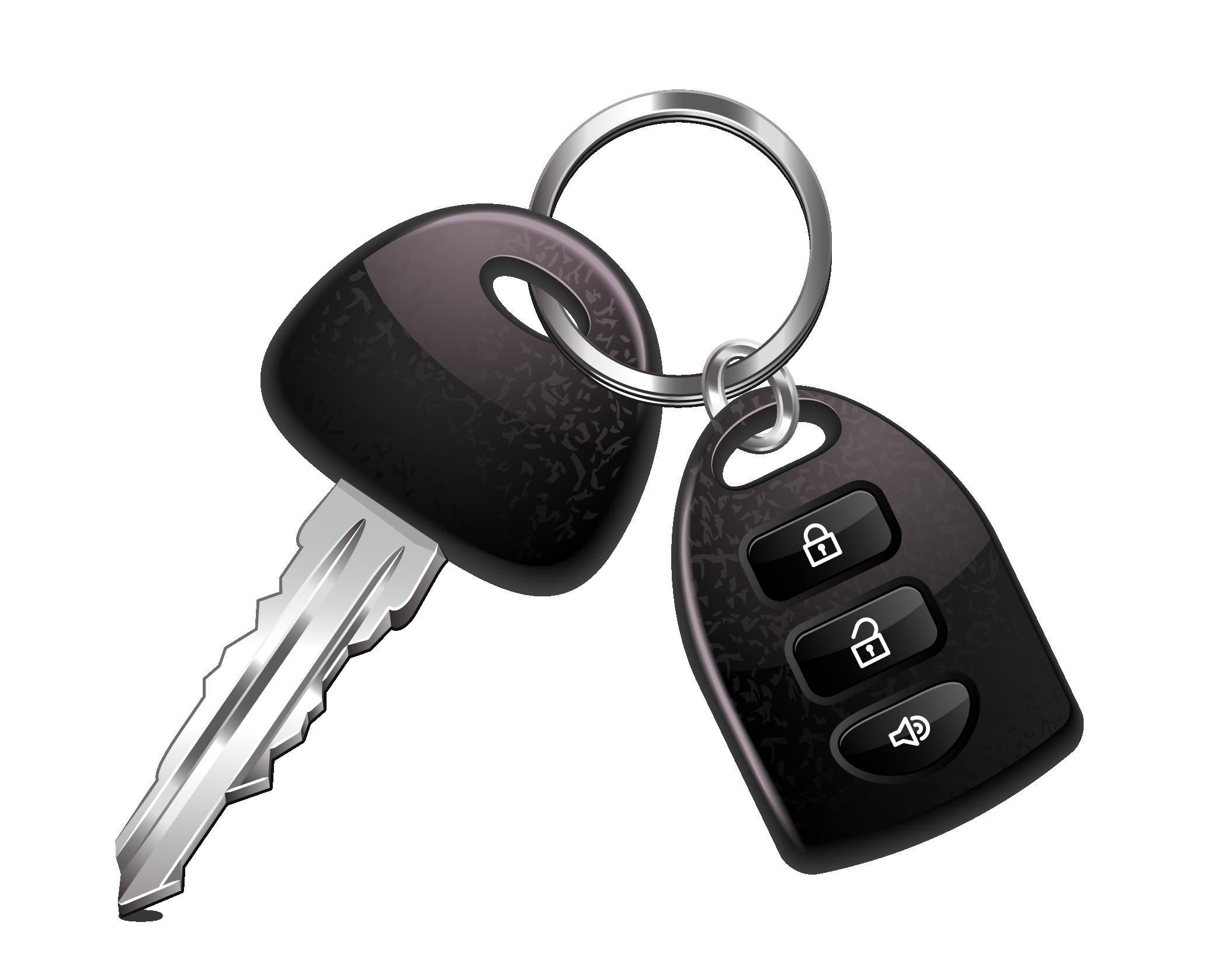 clipart black and white stock Key chain clipart. Transponder car clip art