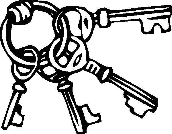 clip art Key chain clipart. Keyring ring clip art