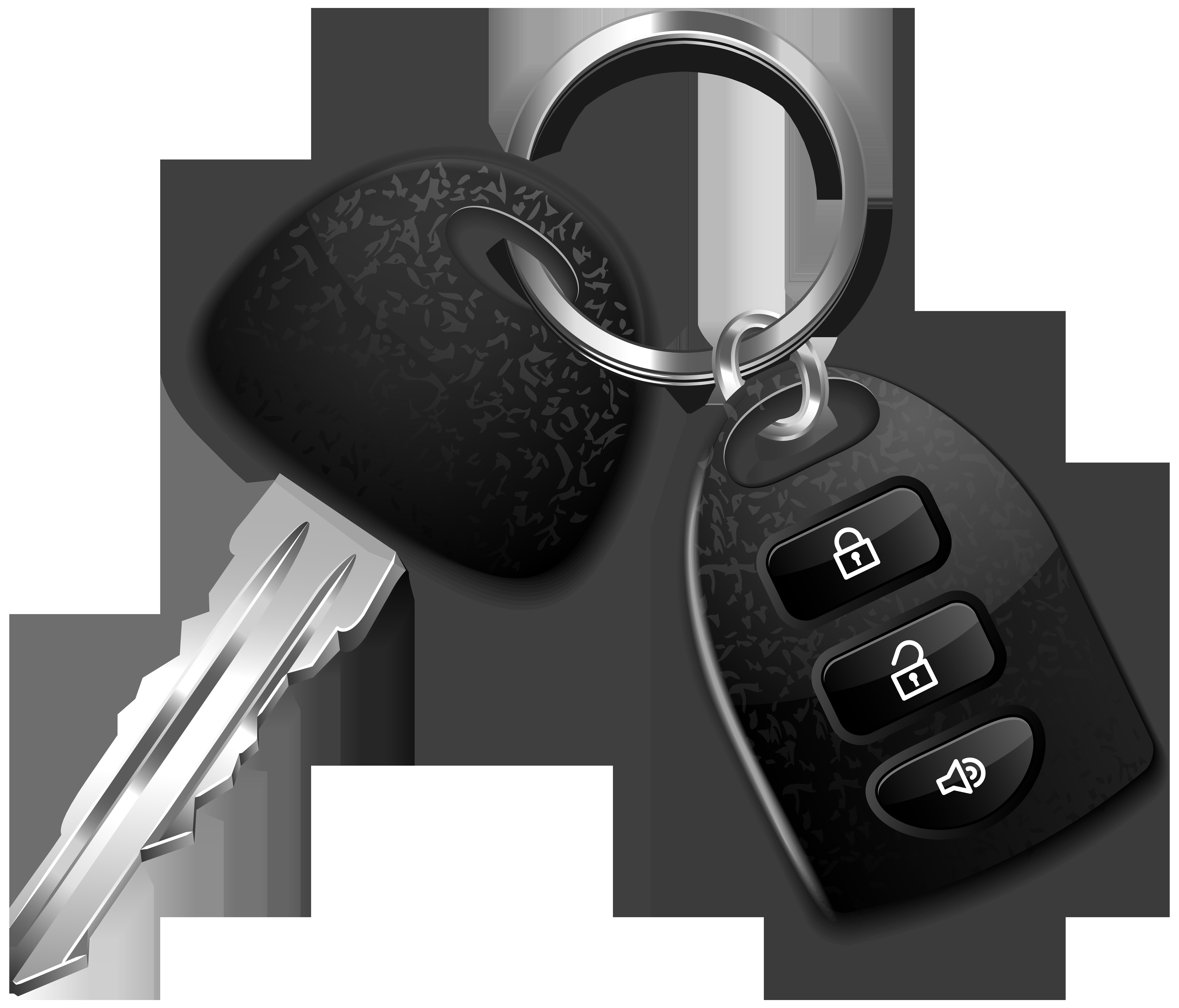 svg royalty free library Car key png clip. Clipart keys