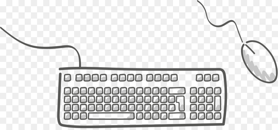 clip art freeuse download Keyboard and mouse clipart. Cartoon computer technology transparent