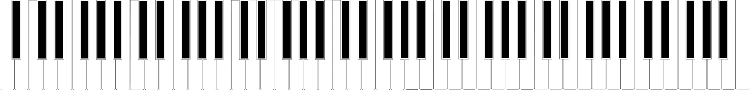 banner library stock Keyboard clipart black and white. Piano clipground