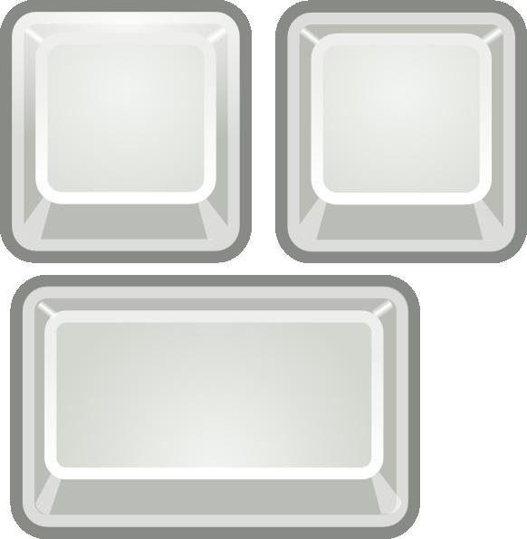 svg free stock Blank Keyboard Keys Clip Art at Clker