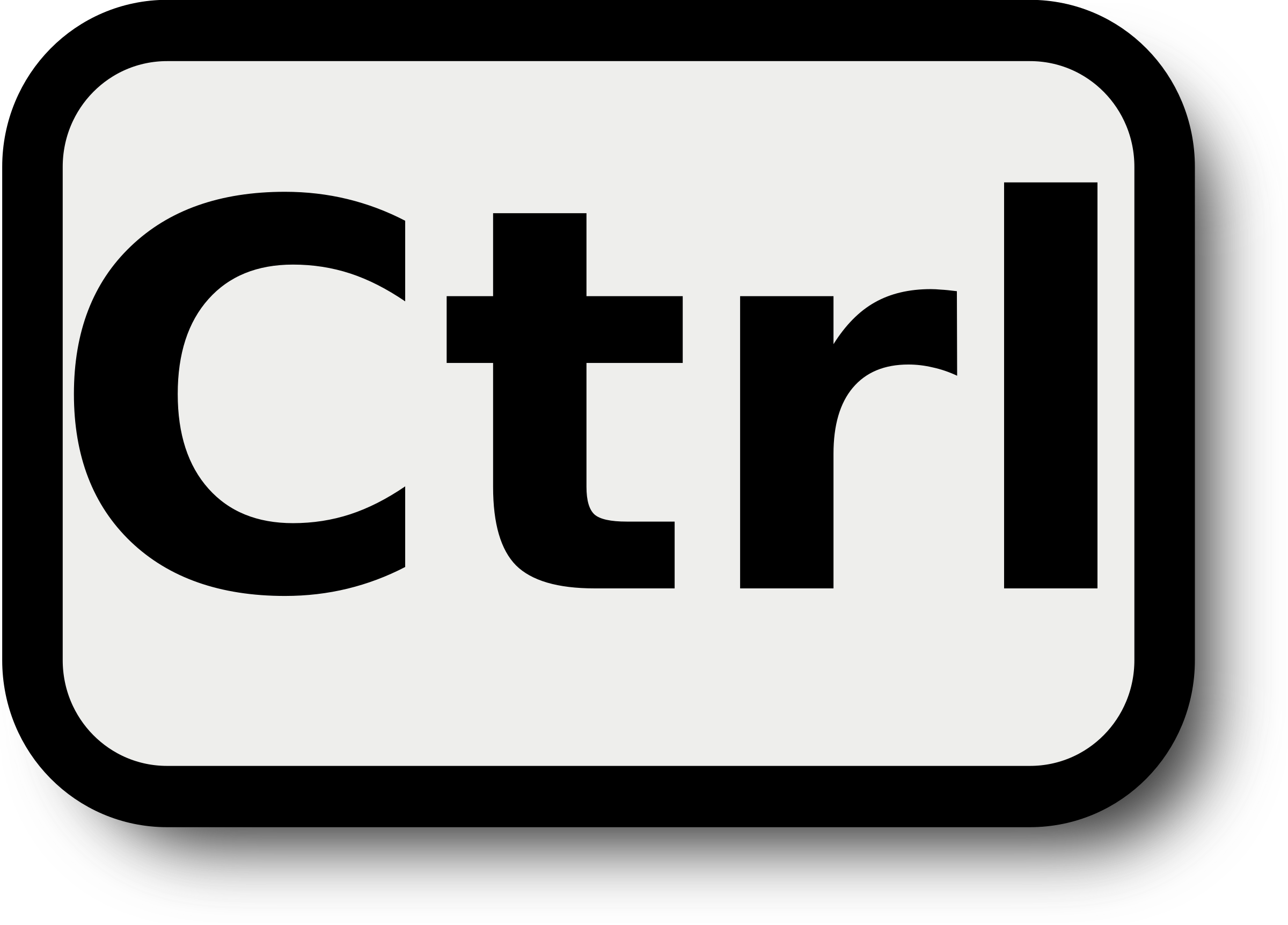 svg library download Ctrl. Keyboard key clipart