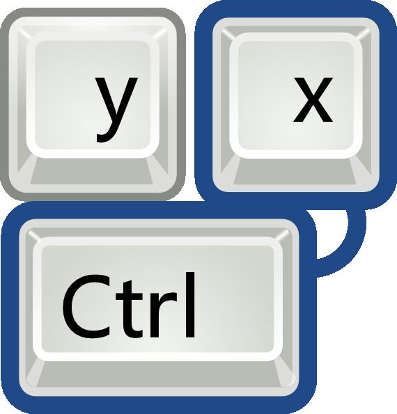 image transparent library Keyboard key clipart. Preferences desktop shortcuts clip