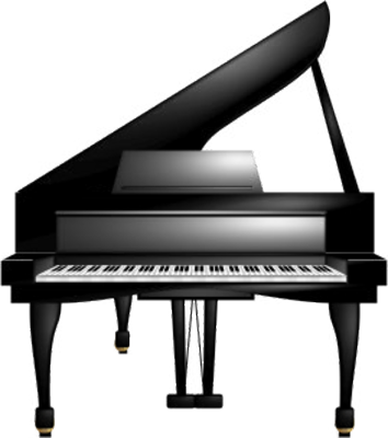 clip art royalty free library Png transparent free images. Keyboard piano clipart