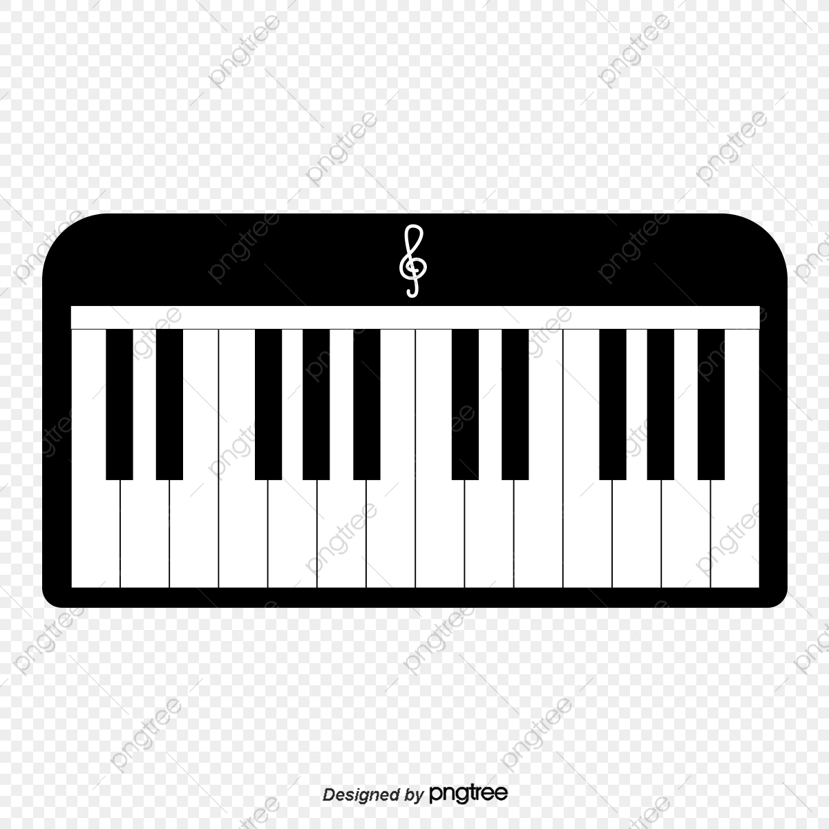 png freeuse Keyboard piano clipart. Black and white png
