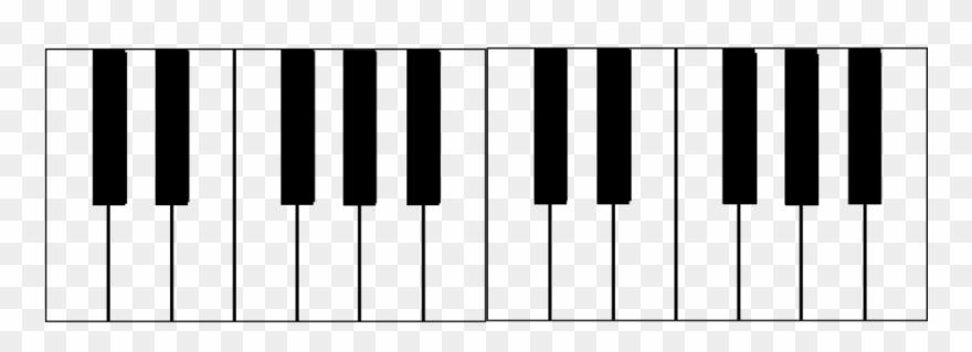 png royalty free stock Svg pinclipart . Keyboard piano clipart
